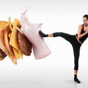 kick the junk food
